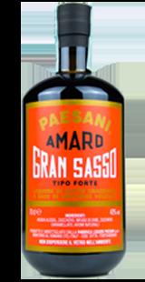 Paesani Liquori - Bottiglia Pacho - Amaro Gran Sasso Tipo forte