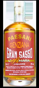Paesani Liquori - Bottiglia Pacho - Genziana L'Amara